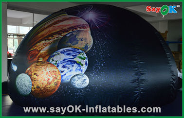Cina Oxford Cloth Inflatable Portabel Planetarium Dome Tent Untuk Anak Fun Learning pemasok