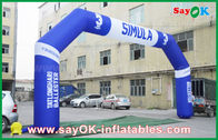 Cina PVC Outdoor Event Inflatable Arch, Olahraga Finsh Inflatable Finish Arch pabrik