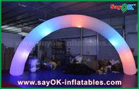 Cina 63cm DIA Nylon Cloth inflatble Pencahayaan Arch Way Gerbang Untuk Dekorasi pabrik