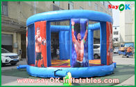 Cina Kuat PVC Raksasa Inflatable Bouncy Puri Untuk Kerusakan / Boxing Dua Tahun Garansi pabrik