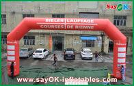 Cina 3D Inflatable Finish Arch acara LED Lighting Inflatable Entrance Arch Untuk Promosi pabrik