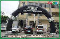 Cina Full Color Print Direct Inflatable Arch Selamat Datang / Mulai / Selesai Line Entrance Archway pabrik