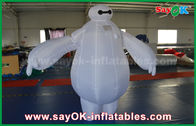 Cina Inflatable Baymax Maskot Kostum / Robot Inflatable Baymax untuk taman hiburan anak-anak pabrik