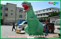 Cina Model 3D Karakter Kartun Inflatable Jurassic Park Inflatable Giant Dinosaurus pabrik