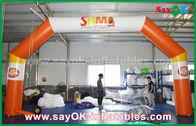Cina Oxford Cloth PVC Coating Arch Inflatable CE Untuk Periklanan / Promosi pabrik