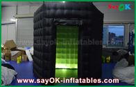 Cina 1 Pintu 2,5 m Custom Besi Foto Hitam Hitam Putih dengan Kain Oxford Light Light pabrik