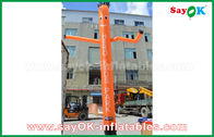 Cina Red / Orange / Blue Inflatable Air Dancer / Penari Langit dengan CE Blower untuk Outdoor Advertising pabrik