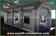 Cina Tenda Udara Inflatable / Booster Spray Inflatable dengan Filter untuk penutup mobil pabrik