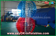 Cina Transparan TPU Inflatable Sports Games, Giant Human Body Bubble Ball pabrik