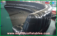 Cina Produk Inflatable Custom Ramah Lingkungan 6 - 10m Hitam Hermetically Sealed 0.6mm PVC Inflatable Sofa pabrik