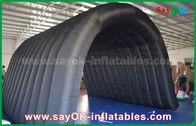Cina Black 210D Oxford Tunnel Tenda Tenda Inflatable untuk Aktivitas Luar Ruangan pabrik