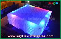 Cina Giant White 210 D Oxford Tenda Udara Inflatable Dengan Lampu LED untuk Pesta pabrik