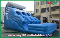 Cina Big Anti-UV 0.55 PVC Tarpaulin Inflatable Bouncer Dengan Logo Printing pabrik