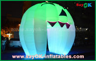 Cina Cute Inflatable Holiday Dekorasi Lighting Ghost Door / Large Inflatable Pumpkin pabrik