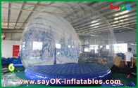 Cina 3m Dia Inflatable Holiday Decorations / Transparan Inflatable Chrismas Snow Globe untuk Iklan pabrik