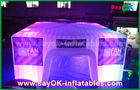 Cina Kubah Tenda Udara Inflatable untuk Berkemah, Bubble Party Bubble Led Party pabrik