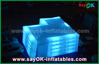 Cina Customize Square Inflatable Air Tent Dengan Led Light Outdoor Actitive pabrik