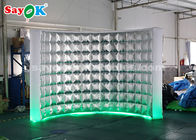 Cina Photo Booth Inflatable Wall Untuk Dekorasi Panggung / Led Photo Booth Tahan Lama pabrik