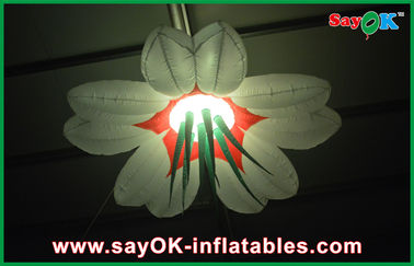 Oxford Cloth Led Raksasa Inflatable Pencahayaan Dekorasi 2m / 2.5m