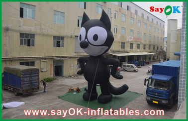 5M Oxford Cloth Inflatable Kartun Karakter Inflatable Toy Untuk Trade Show
