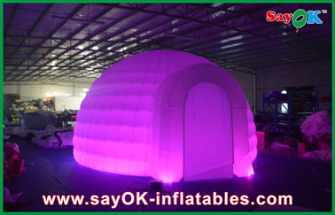 Iklan Dome Inflatable Air Tent, Led Light Inflatable Lawn Tent