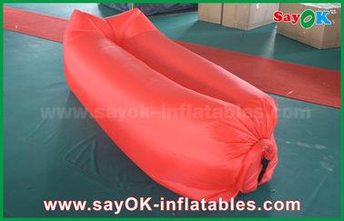 Inflatable pantai tidur kantong udara Camping berbaring tas Easy Opening bahan Nylon