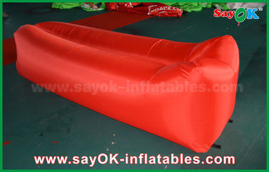 Nilon kain ringan tidur kantong udara Pop up Sofa udara sofa pantai Inflatable