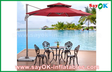 UV Resistant Folding Sun Outdoor Beach Umbrella, Chinese Garden Parasol