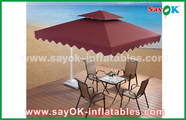 2.5 * 2.5M Iklan Sun Umbrella Beach Garden Patio Umbrella