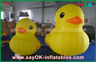 Promosi Lovely Bebek Kartun Inflatable Besar Bebek dengan Logo Disesuaikan Cetak