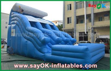 Big Anti-UV 0.55 PVC Tarpaulin Inflatable Bouncer Dengan Logo Printing
