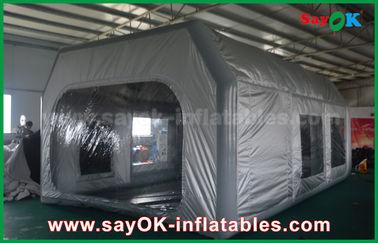 PVC Waterproof PVC Prefessional dan Oxford Cloth Inflatable Paint Booth untuk Car Painting
