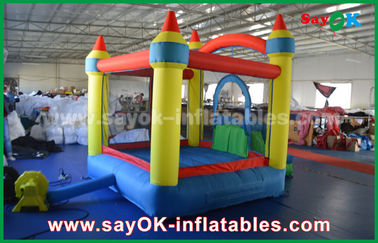 Kecil 2x2m Oxford Cloth Inflatable Bounce, Kids Bouncy Castle