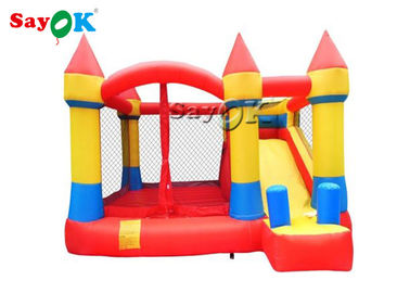Cina Oxford Inflatable Playground Childrens Bouncy Castle Fire - Retardant pabrik