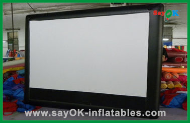Inflatable Cinema Layar Commercial tiup Widescreen Film Layar